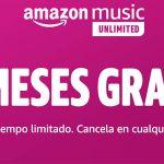 ᐅ maAmazon Music Unlimited 3 mois gratuits